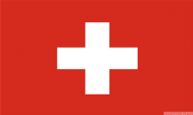 SWITZERLAND - 8 X 5 FLAG